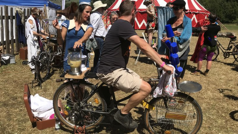 Ces passionnés qui traversent le monde pour assister au festival Hors Tribu, à Môtiers