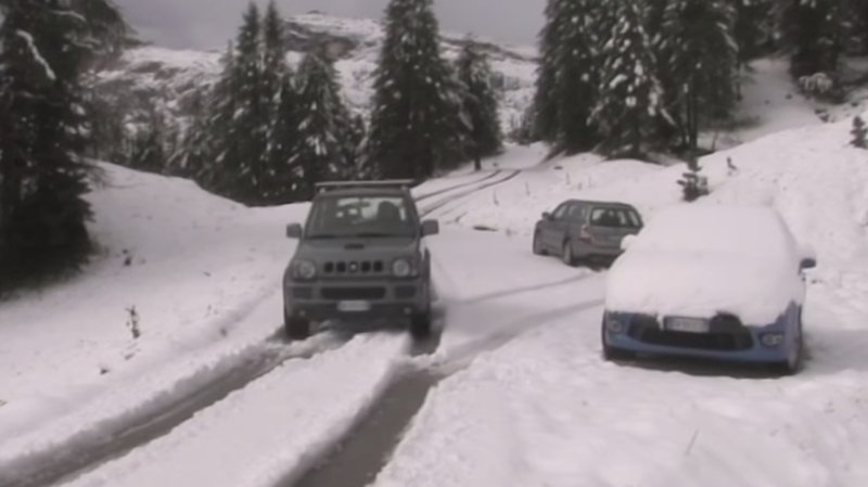 Italie et Autriche: 30 cm de neige en moyenne montagne, un record en cette saison
