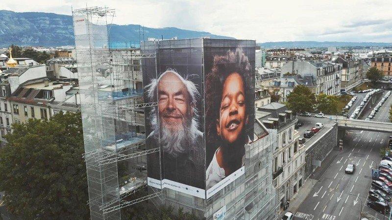 Les photos XXL de Guillaume Perret, au Boulevard Helvétique 14, à Genève.