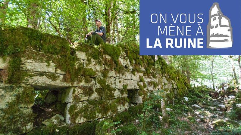 Un ancien moulin caché sur les rives du Doubs