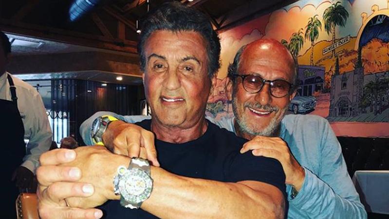 La nouvelle Richard Mille au poignet de Sylvester Stallone