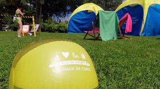 Dépistage du mélanome à la piscine des Mélèzes, à la Chaux-de-Fonds
