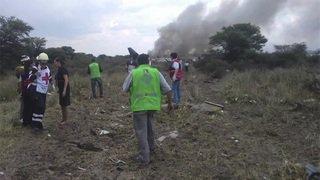 Une centaine de passagers survivent à un crash aérien au Mexique