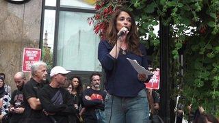 Genève: rassemblement citoyen contre les violences faites aux femmes après l'agression de mercredi