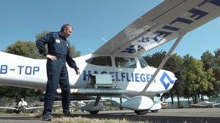 Assurance: un avion anti-grêle destiné à réduire les dommages testé en Suisse