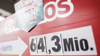 Loterie: les Suisses ont misé 333 francs par habitant en 2017