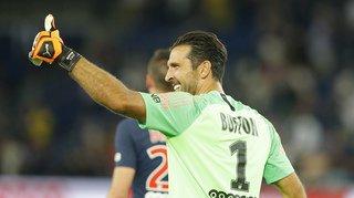 Football: Buffon affronte Marcus Thuram une vingtaine d'années après avoir évolué avec son père