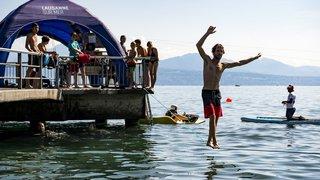 Vaud: apnée, yoga du rire ou mermaiding lors de la manifestation Lausanne-sur-Mer