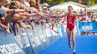 Coupe du monde de Triathlon: Nicola Spirig s'impose à Lausanne
