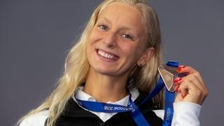 Ugolkova s'arrache  et décroche le bronze