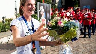 Lea Sprunger gagne aussi en Ligue de diamant