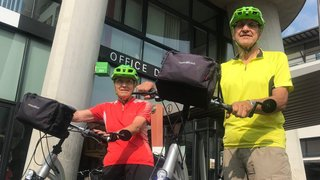 De La Chaux-de-Fonds à Morat à bicyclette