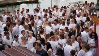 La soirée blanche de La Marina en images