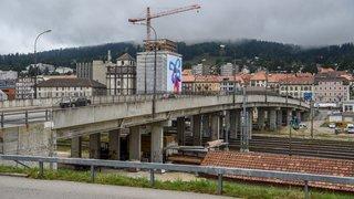 La Chaux-de-Fonds: une passerelle de mobilité douce pour les travaux du Grand Pont