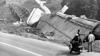L'inconcevable effondrement du viaduc de Valangin