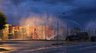 Une défectuosité technique déclenche l'alarme de l'entreprise Vitogaz, à Cornaux