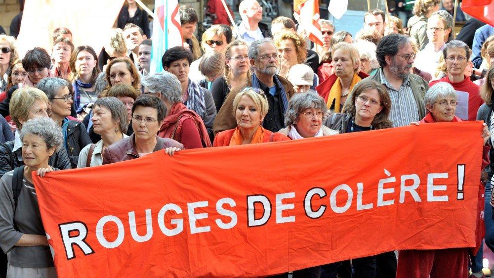 La revendication du principe d'égalité hommes-femmes est un combat de longue haleine. Il faudra encore de nombreuses batailles, comme ici  à Genève en 2010, pour l'obtenir.