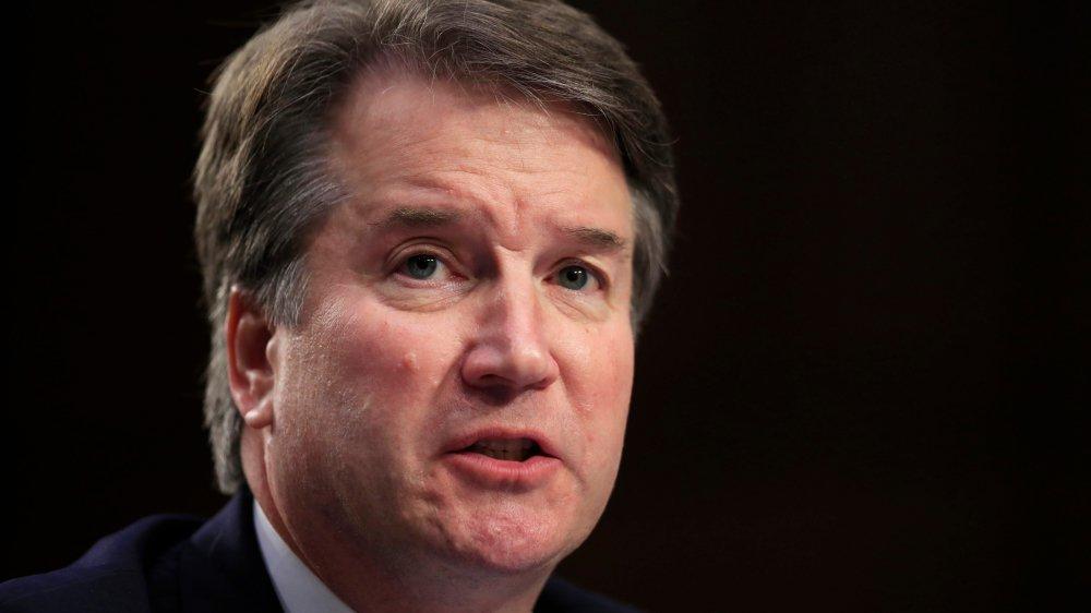 Brett Kavanaugh, candidat  à la Cour suprême.