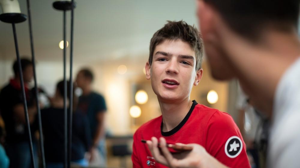 Avec deux titres mondiaux décrochés en VTT, Alexandre Balmer courra sans pression sur les routes tyroliennes.