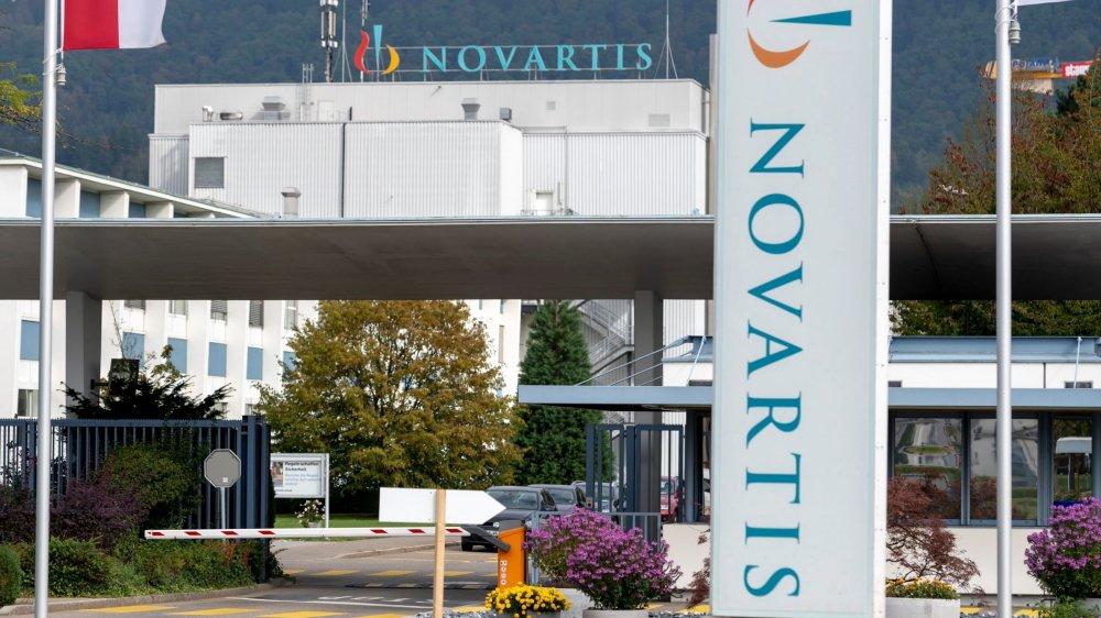 Le site de Novartis à Stein, sur les rives du Rhin, en Argovie, perdra près de 700 postes sur 1670.