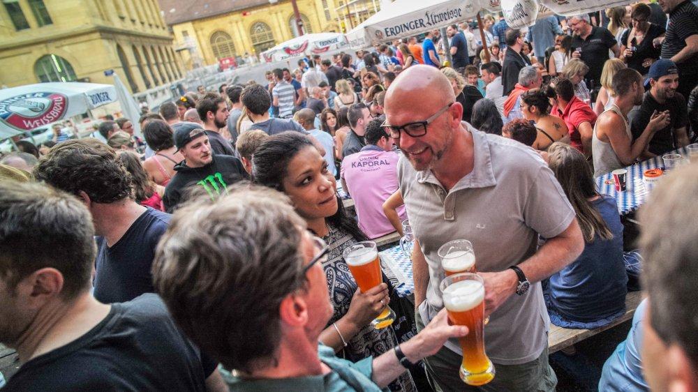 La fête de la bière au Duo, une scène qui appartient au passé?