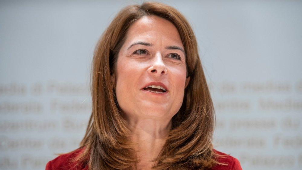La présidente du PLR, Petra Gössi, ne sera pas candidate  à la succession de Johann Schneider-Ammann au Conseil fédéral.