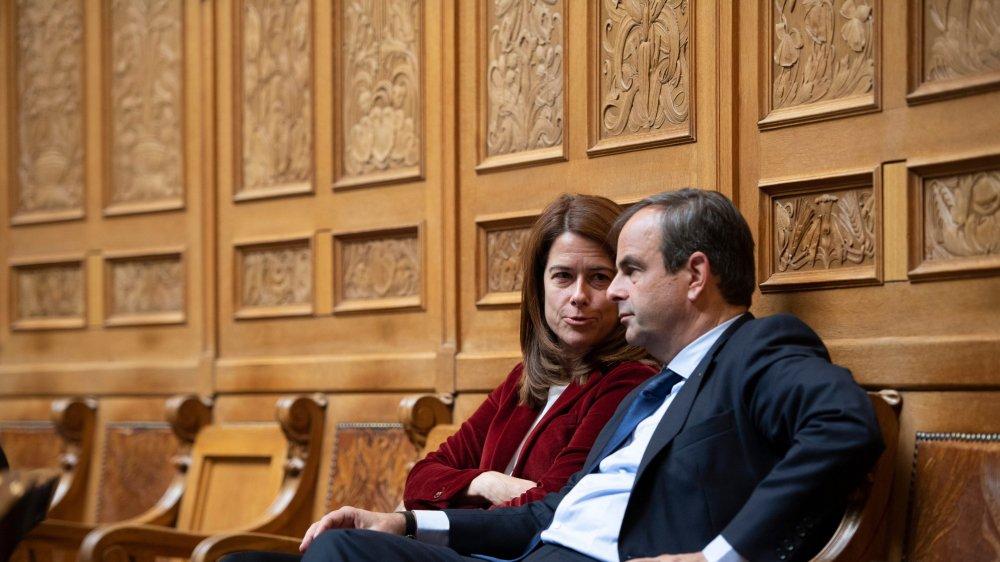 Dans ses discussions avec le président du PDC, Gerhard Pfister, cette semaine, Petra Gössi, la patronne du PLR, n'insiste pas trop sur la question des femmes.