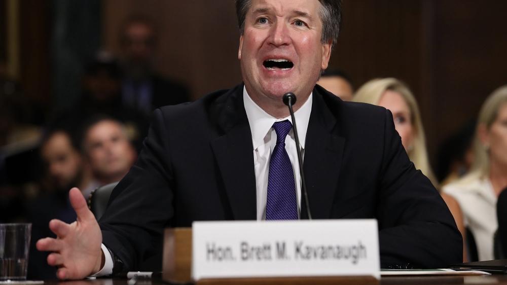 Le candidat à la Cour suprême s'est défendu jeudi.