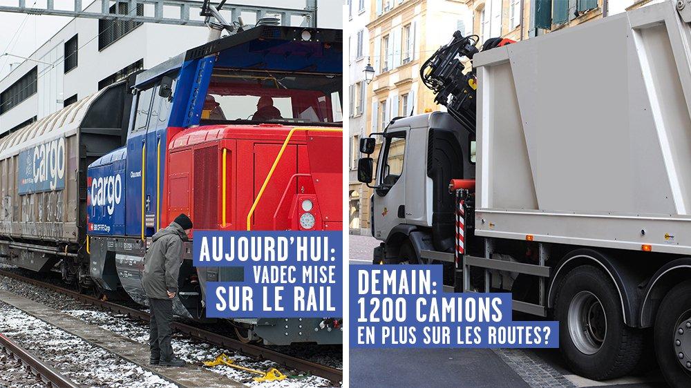 CFF Cargo obligerait Vadec à charger 1200 camions par an