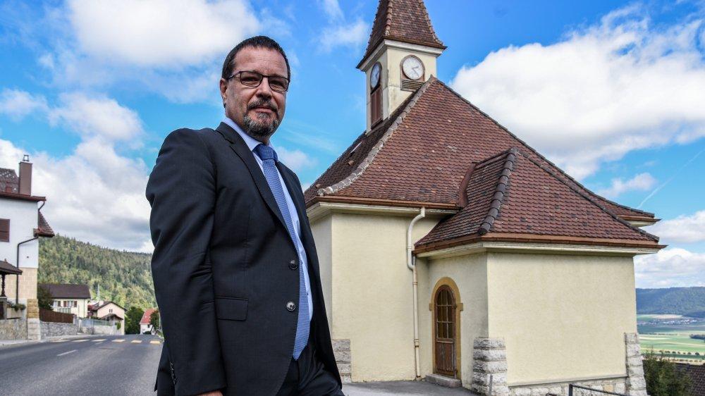 Le système électrique de la chapelle des Hauts-Geneveys ne répond plus du tout aux normes, précise le conseiller communal de Val-de-Ruz Cédric Cuanillon.