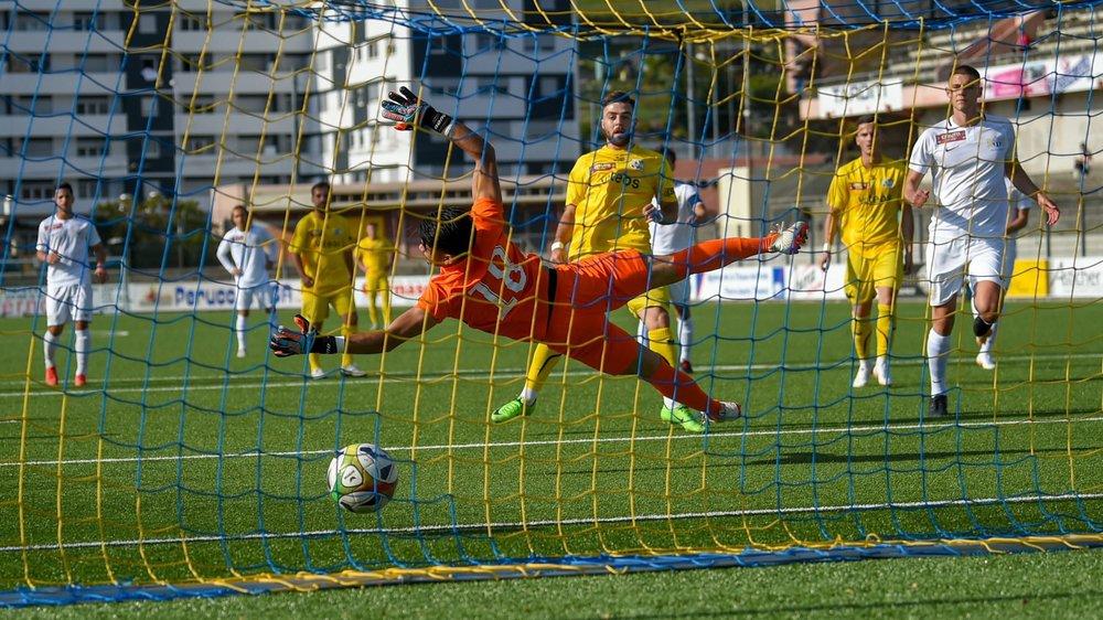 Lorsque Vedat Efendic a ouvert le score pour le FC La Chaux-de-Fonds, la journée s'annonçait bien pour les Chaux-de-Fonniers à ce moment-là...