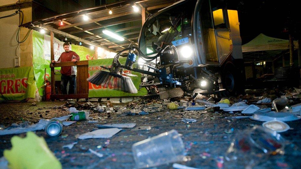 Les verres recyclables permettraient de limiter la quantité de déchets à ramasser lors de la Fête des vendanges.