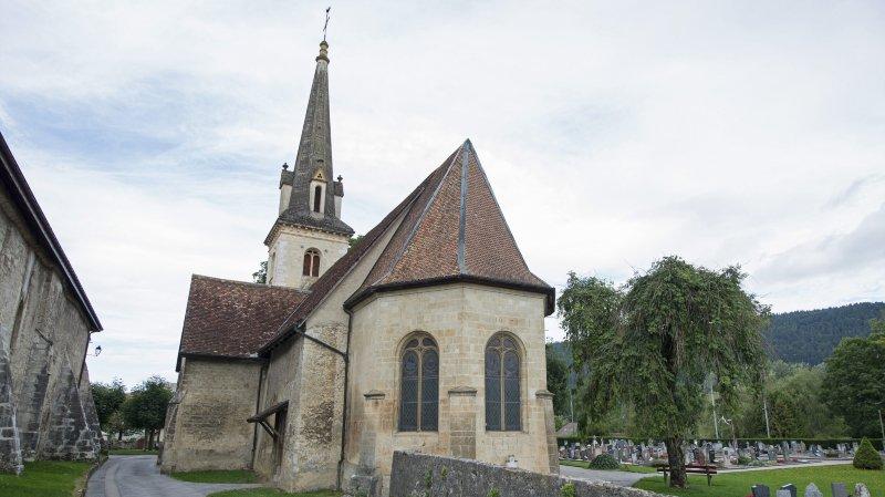 Une cure de jouvence annoncée pour l'église paroissiale de Môtiers.