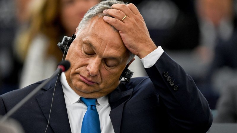 Le premier ministre hongrois Viktor Orban a été désavoué par le Parlement européen.
