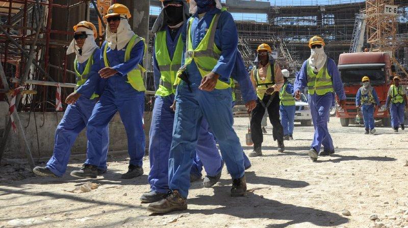 Selon Amnesty, certains travailleurs ont été autorisés à quitter le Qatar, mais à leurs propres frais.