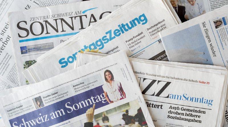 Revue de presse: chômage, armes suisses en Libye ou médicaments hors de prix... les titres de ce dimanche