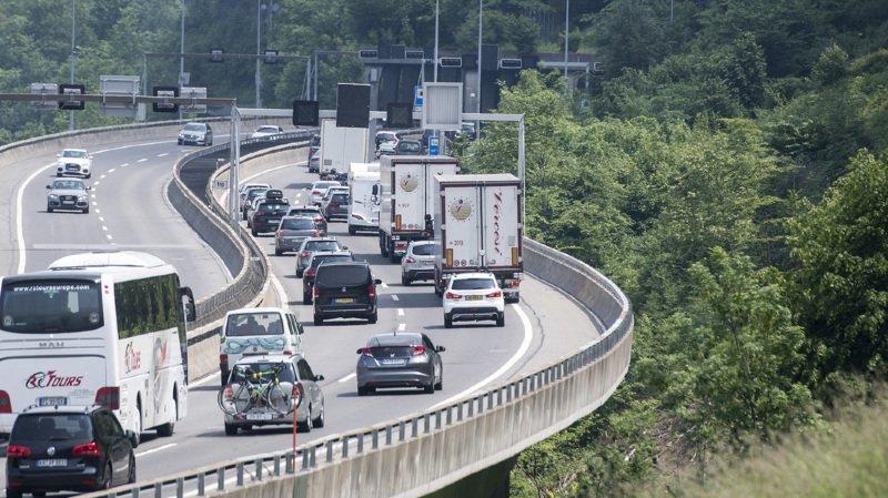 Trafic routier: le tunnel du Gothard fermé pendant 14 nuits