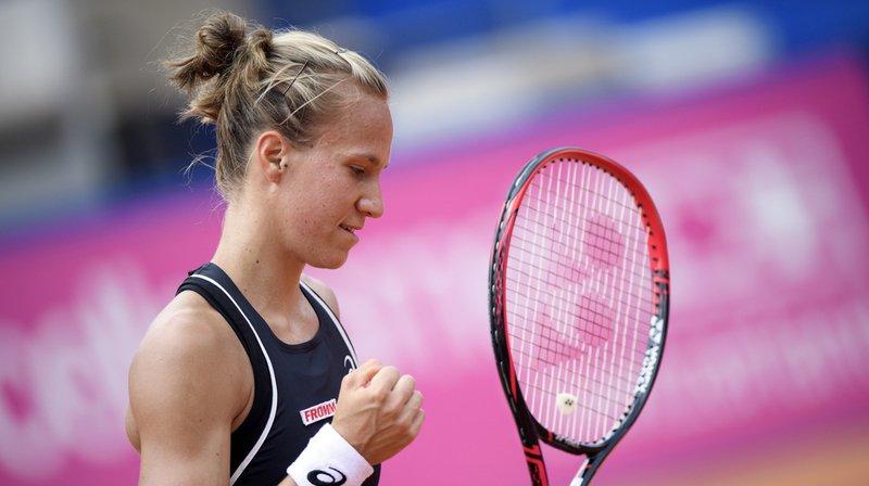 Issue des qualifications, Viktorija Golubic (WTA 100) a franchi le cap du 1er tour à Wuhan (CHN).