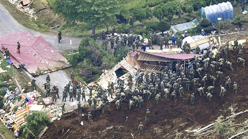 Japon: le bilan du séisme s'alourdit à 20 morts sur l'île d'Hokkaido
