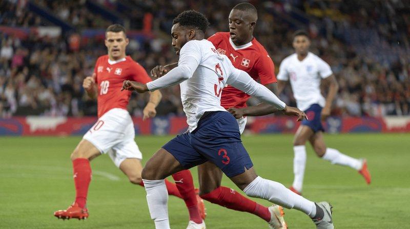 Football: la Suisse s'incline 1-0 contre l'Angleterre en match amical