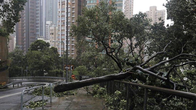 Après avoir ravagé les Philippines et causé la mort de plusieurs dizaines de personnes, le Le typhon Mangkhut a frappé la province chinoise de Canton.