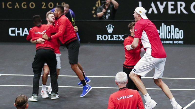 Tennis – Laver Cup: le Reste du monde passe en tête