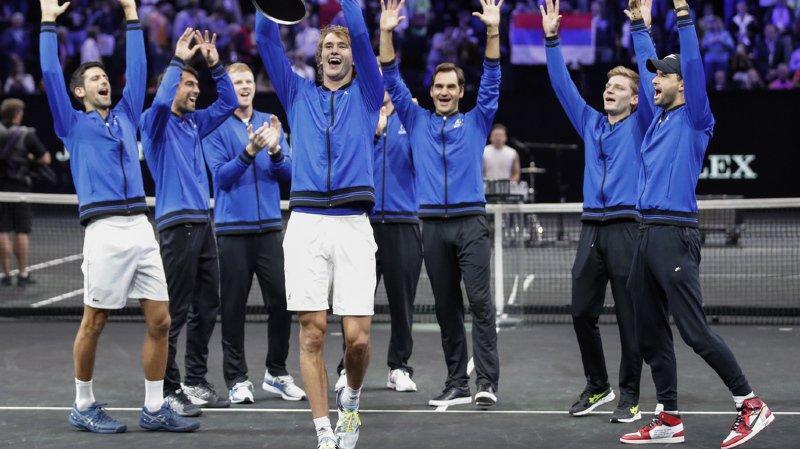 Tennis – Laver Cup: l'Europe remporte la deuxième édition
