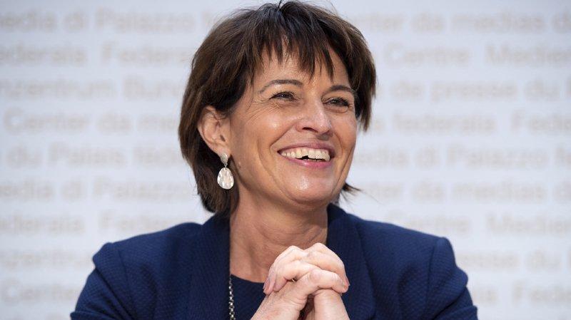 Conseil fédéral: la ministre PDC Doris Leuthard annonce à son tour son départ pour fin 2018