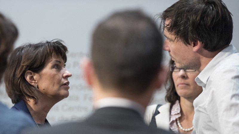 Doris Leuthard peut se vanter devant tous les membres du gouvernement en exercice du meilleur bilan en votations populaires.