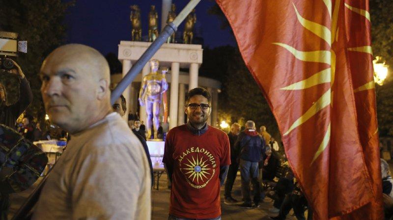 """""""Je pense que l'immense majorité des citoyens qui ont voté ont choisi la voie européenne"""", a déclaré le Premier ministre macédonien Zoran Zaev."""
