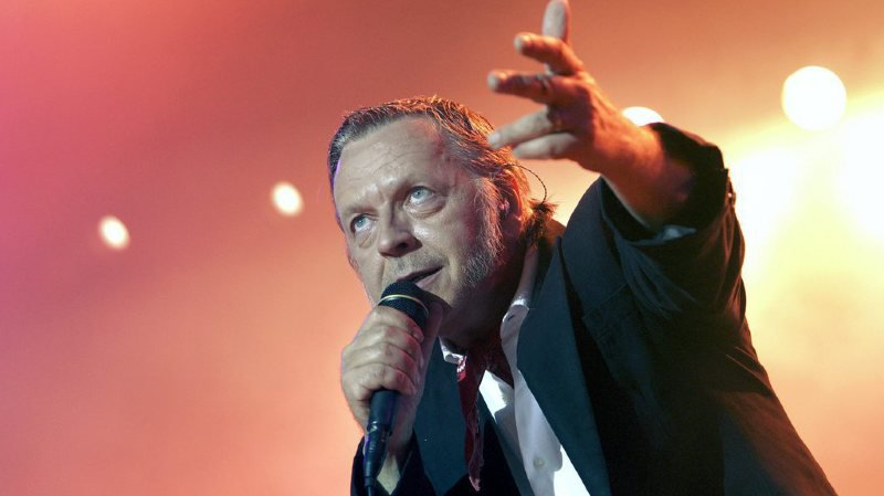 Le chanteur avait son retour sur scène l'an dernier avec un passage par le Paléo Festival.