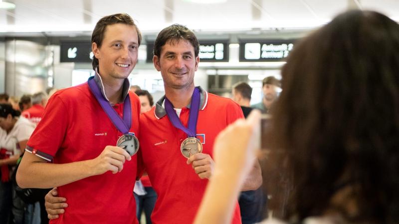 Steve Guerdat et Martin Fuchs, des leaders récompensés