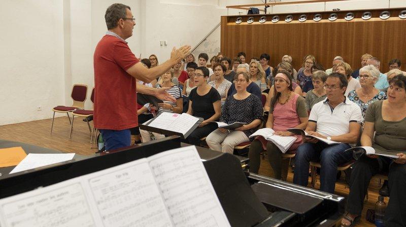 Une chorale et des musiciens jurassiens interprètent Starmania au Chant du Gros