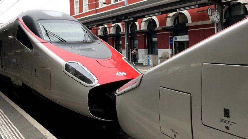 Le trafic international se trouve impacté, puisque les trains Astoro assurent de grandes lignes telles que Francfort-Bâle-Milan, Zürich-Milan ou encore Genève-Milan.